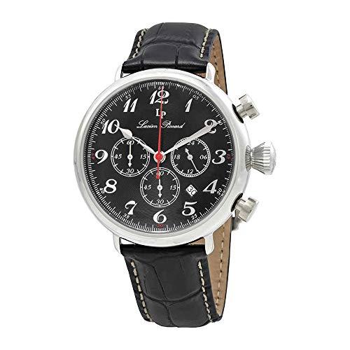 ルシアンピカール 腕時計 メンズ LP-72415-01 Lucien Piccard Men's LP-72415-01 Trieste Analog Display Watch with Embossed Bandルシアンピカール 腕時計 メンズ LP-72415-01