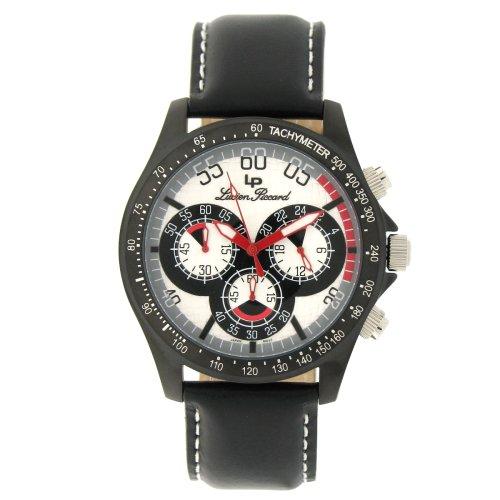 ルシアンピカール 腕時計 メンズ 26959SL Lucien Piccard Men's 26959SL Black Ion-Plated Chronograph Watchルシアンピカール 腕時計 メンズ 26959SL