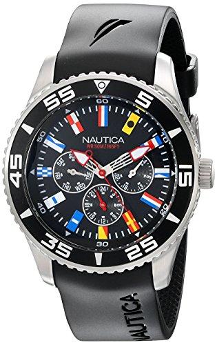 ノーティカ 腕時計 メンズ N12626G 【送料無料】Nautica Men's N12626G NST 07 Flags Classic Stainless Steel Watchノーティカ 腕時計 メンズ N12626G