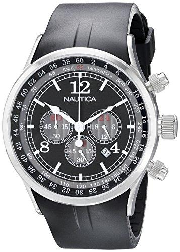 ノーティカ 腕時計 メンズ N13530G Nautica Men's N13530G NSR 01 Stainless Steel Watchノーティカ 腕時計 メンズ N13530G