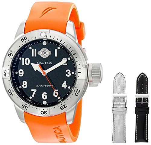 ノーティカ 腕時計 メンズ N14508 【送料無料】Nautica Men's N14508 BFC Stainless Steel Diver Watchノーティカ 腕時計 メンズ N14508
