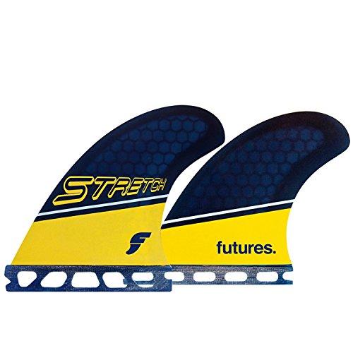 サーフィン フィン マリンスポーツ Futures Fins - Stretch Honeycomb Quadサーフィン フィン マリンスポーツ