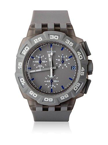 スウォッチ 腕時計 メンズ SUIM402 Swatch Men's SUIM402 Rubber Analog with Grey Dial Watchスウォッチ 腕時計 メンズ SUIM402