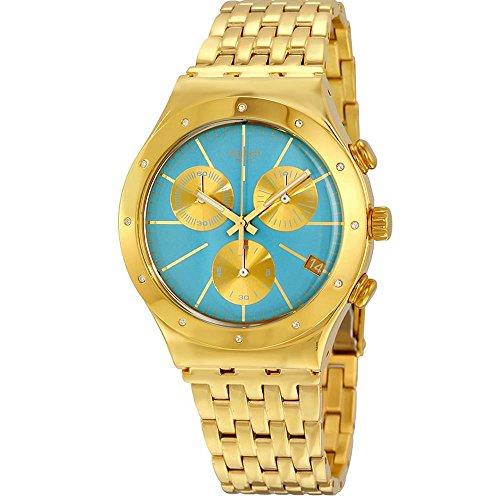 スウォッチ 腕時計 レディース 夏の腕時計特集 YCG413G 【送料無料】Swatch Women's Irony YCG413G Gold Stainless-Steel Swiss Quartz Watchスウォッチ 腕時計 レディース 夏の腕時計特集 YCG413G