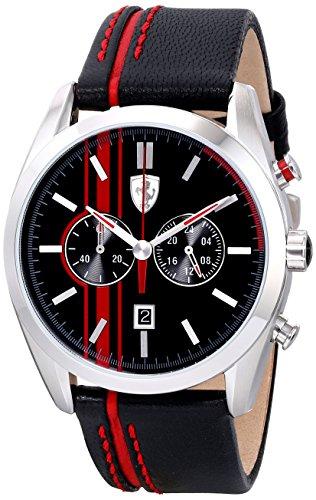 フェラーリ 腕時計 メンズ 0830177 Ferrari Men's 0830177 D 50 Analog Display Quartz Black Watchフェラーリ 腕時計 メンズ 0830177