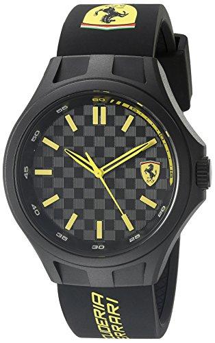 フェラーリ 腕時計 メンズ 830286 【送料無料】Ferrari 830286 Pit Crew Analog Display Quartz Black Watchフェラーリ 腕時計 メンズ 830286