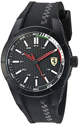 フェラーリ 腕時計 メンズ 0830301 【送料無料】Ferrari Men's 'Redrev' Quartz Black Casual Watch (Model: 0830301)フェラーリ 腕時計 メンズ 0830301