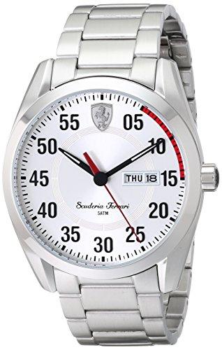 フェラーリ 腕時計 メンズ 0830178 【送料無料】Ferrari Men's 0830178 D 50 Analog Display Quartz Silver Watchフェラーリ 腕時計 メンズ 0830178