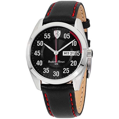フェラーリ 腕時計 メンズ 0830173 Ferrari Men's 0830173 D 50 Analog Display Quartz Black Watchフェラーリ 腕時計 メンズ 0830173