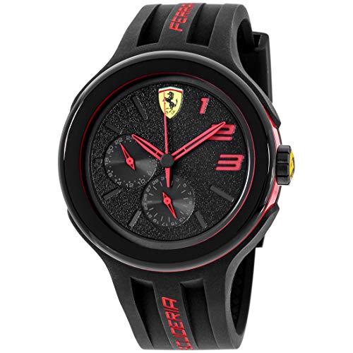フェラーリ 腕時計 メンズ 830223 【送料無料】Ferrari Men's 830223 FXX Red-Accented Black Watchフェラーリ 腕時計 メンズ 830223