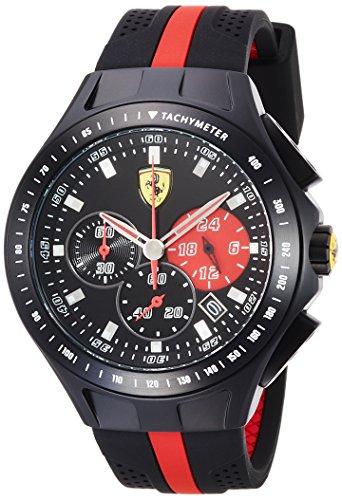フェラーリ 腕時計 メンズ 0830023 Ferrari Men's 0830023 Race Day Analog Display Quartz Black Watchフェラーリ 腕時計 メンズ 0830023
