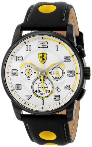 フェラーリ 腕時計 メンズ 0830056 【送料無料】Ferrari Men's 0830056 Analog Display Japanese Quartz Black Watchフェラーリ 腕時計 メンズ 0830056