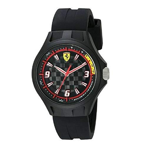 フェラーリ 腕時計 メンズ 0820001 Ferrari Men's 0820001 Pit Crew Analog Display Quartz Black Watchフェラーリ 腕時計 メンズ 0820001