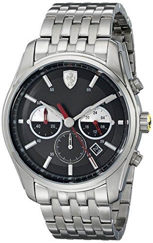 フェラーリ 腕時計 メンズ 830197 【送料無料】Ferrari Men's 830197 GTB - C Analog Display Quartz Silver Watchフェラーリ 腕時計 メンズ 830197