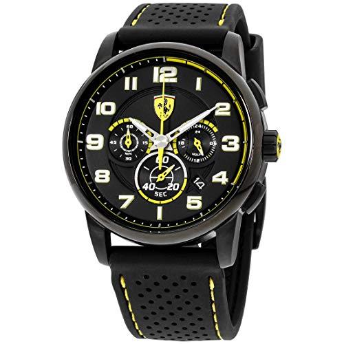 フェラーリ 腕時計 メンズ 830061 【送料無料】Ferrari Heritage Quartz Movement Black Dial Men's Watch 830061フェラーリ 腕時計 メンズ 830061