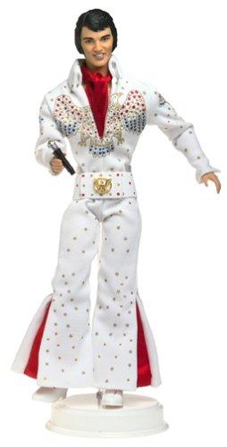 バービー バービー人形 バービーコレクター コレクタブルバービー プラチナレーベル 28570 Barbie Elvis Collectible Collector Edition Doll Featuring in White Eagle Jumpsuiバービー バービー人形 バービーコレクター コレクタブルバービー プラチナレーベル 28570