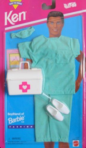 バービー バービー人形 バービーキャリア バービーアイキャンビー 職業 14378 【送料無料】Barbie KEN Fashions DOCTOR SURGEON w Accessories (1995 Easy To Dress)バービー バービー人形 バービーキャリア バービーアイキャンビー 職業 14378