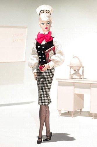 バービー バービー人形 バービーキャリア バービーアイキャンビー 職業 J4257 Barbie BFMC Teacher Silkstone Doll Career Series Canada Exclusiveバービー バービー人形 バービーキャリア バービーアイキャンビー 職業 J4257