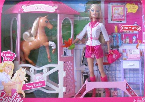 【安心発送】 バービー バービー人形 TARGET バービーキャリア HORSE バービーアイキャンビー 職業 職業 V Barbie I Can Be PONY DOCTOR Playset w Vet BARBIE Doll, HORSE & More! TARGET Exclusive (2010)バービー バービー人形 バービーキャリア バービーアイキャンビー 職業 V, ブランドステーション:5fffea04 --- konecti.dominiotemporario.com
