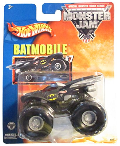 無料ラッピングでプレゼントや贈り物にも 逆輸入並行輸入送料込 ホットウィール マテル ミニカー 割り引き ホットウイール 送料無料 Hot Wheels Truck Monter 低価格 Jam Collectionホットウィール Monster #7 Metal Batman