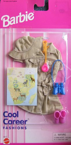 バービー バービー人形 バービーキャリア バービーアイキャンビー 職業 68617 Barbie Cool Career Fashions SAFARI Outfit (1996 Arcotoys, Mattel)バービー バービー人形 バービーキャリア バービーアイキャンビー 職業 68617