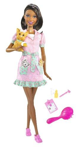 無料ラッピングでプレゼントや贈り物にも。逆輸入並行輸入送料込 バービー バービー人形 バービーキャリア バービーアイキャンビー 職業 R6753 【送料無料】Barbie I Can Be Pet Vet Doll 2, Brunetteバービー バービー人形 バービーキャリア バービーアイキャンビー 職業 R6753