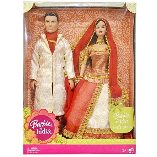 バービー バービー人形 ドールオブザワールド ドールズオブザワールド ワールドシリーズ Barbie in India Barbie & Ken Gift Pack Dressed in Traditional India Attireバービー バービー人形 ドールオブザワールド ドールズオブザワールド ワールドシリーズ