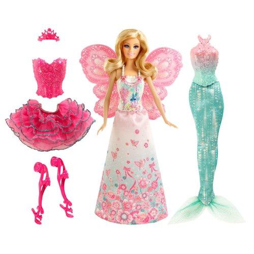 バービー バービー人形 ファンタジー 人魚 マーメイド Barbie Mix & Match Fairytale Dress Upバービー バービー人形 ファンタジー 人魚 マーメイド