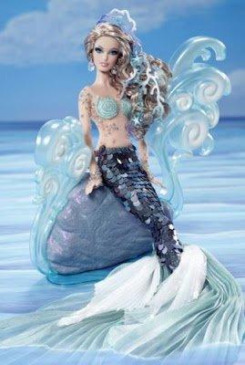 バービー バービー人形 ファンタジー 人魚 マーメイド Barbie 2012 BFC The Mermaid Fantasy Collection Gold Labelバービー バービー人形 ファンタジー 人魚 マーメイド