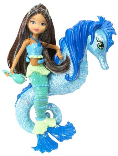 バービー バービー人形 ファンタジー 人魚 マーメイド R5764 Barbie In A Mermaid Tale Seahorse Stylist Doll - Blueバービー バービー人形 ファンタジー 人魚 マーメイド R5764