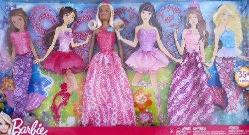 バービー バービー人形 ファンタジー 人魚 マーメイド BARBIE DOLL & Extra FASHIONS Set 35+ LOOKS w MERMAID, FAIRY & More OUTFITS (2012)バービー バービー人形 ファンタジー 人魚 マーメイド