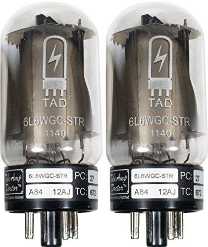 真空管 ギター・ベース アンプ 海外 輸入 Tube Amp Doctor 6L6WGC STR Short Bottle Premium Selected Vacuum Tube, Matched Pair真空管 ギター・ベース アンプ 海外 輸入