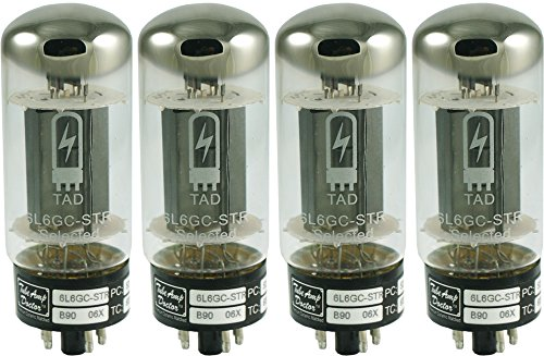 真空管 ギター・ベース アンプ 海外 輸入 Tube Amp Doctor 6L6GC STR Premium Selected Vacuum Tube, Matched Quad真空管 ギター・ベース アンプ 海外 輸入