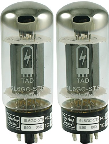 真空管 ギター・ベース アンプ 海外 輸入 Tube Amp Doctor 6L6GC STR Premium Selected Vacuum Tube, Matched Pair真空管 ギター・ベース アンプ 海外 輸入