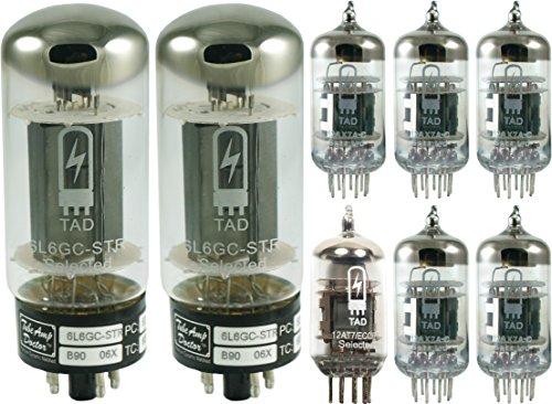 真空管 ギター・ベース アンプ 海外 輸入 Tube Complement for Fender 63 Vibroverb Reissue, Tube Amp Doctor brand tubes真空管 ギター・ベース アンプ 海外 輸入