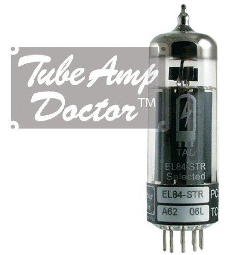 真空管 ギター・ベース アンプ 海外 輸入 4308828285 Tube Amp Doctor EL84 STR Premium Selected Vacuum Tube, Matched Pair真空管 ギター・ベース アンプ 海外 輸入 4308828285