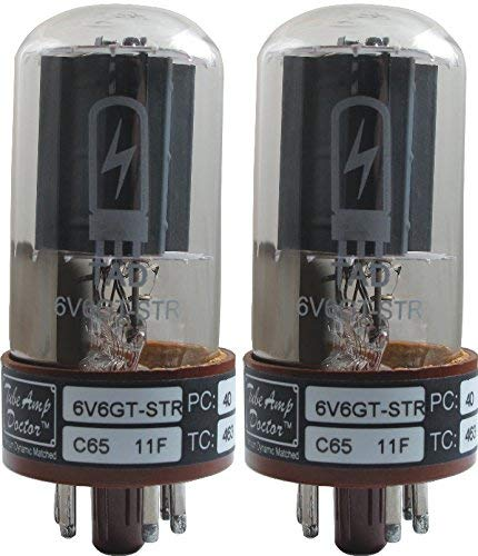 真空管 ギター・ベース アンプ 海外 輸入 Tube Amp Doctor 6V6GT-STR Premium Selected Vacuum Tube, Matched Pair真空管 ギター・ベース アンプ 海外 輸入