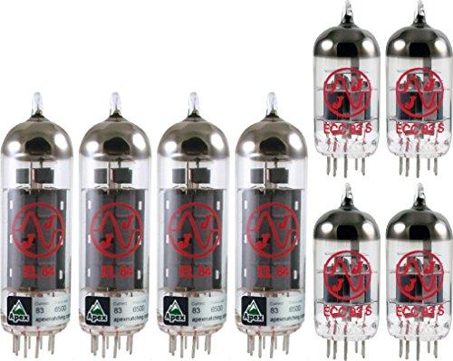 真空管 ギター・ベース アンプ 海外 輸入 4308829594 Orange Amplifiers Dual Terror DT30H 30W Tube Set, JJ Tubes (x4 EL84, x4 12AX7)真空管 ギター・ベース アンプ 海外 輸入 4308829594