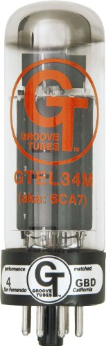真空管 ギター・ベース アンプ 海外 輸入 5550113561 【送料無料】Groove Tubes GT-EL34M - EL34 Quartet (Twin-Pack)真空管 ギター・ベース アンプ 海外 輸入 5550113561