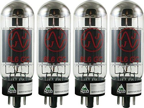 真空管 ギター・ベース アンプ 海外 輸入 JJ 6L6GC Burned In Vacuum Tube, Apex Matched Quad真空管 ギター・ベース アンプ 海外 輸入