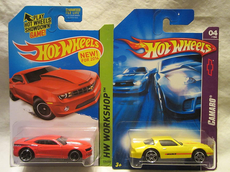 無料ラッピングでプレゼントや贈り物にも。逆輸入並行輸入送料込 ホットウィール マテル ミニカー ホットウイール 【送料無料】Hot Wheels '13 Copo Camaro Red  Yellow Camaro Z28 Die Cast 2 Car Bundle!ホットウィール マテル ミニカー ホットウイール