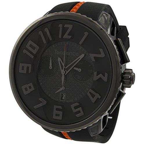 テンデンス 腕時計 メンズ 02037010-A Limited Edition! Tendence Gulliver Mystery Chronograph Polycarbonate and Steel Mens Watch 02037010テンデンス 腕時計 メンズ 02037010-A