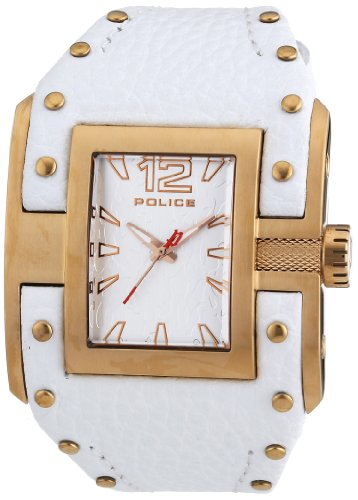 ポリス 腕時計 メンズ PL-13401JSR/04 【送料無料】Police Men's PL-13401JSR/04 Avenger Rose Gold IP Stainless-Steel White Leather Watchポリス 腕時計 メンズ PL-13401JSR/04
