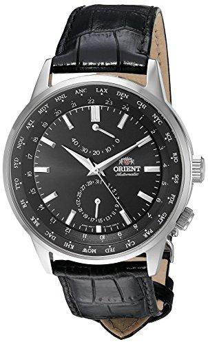 オリエント 腕時計 メンズ FFA06002B0 【送料無料】Orient Men's 'Adventurer' Japanese Automatic Stainless Steel and Leather Dress Watch, Color:Black (Model: FFA06002B0)オリエント 腕時計 メンズ FFA06002B0