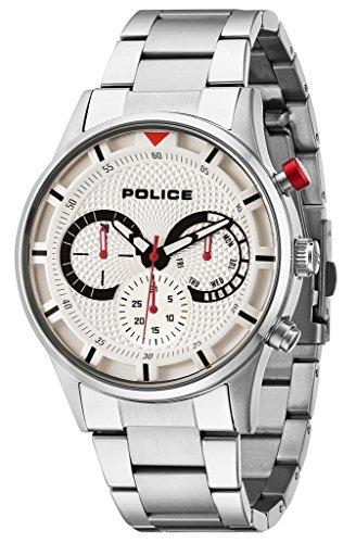 腕時計 ポリス メンズ 14383JS/04M 【送料無料】Police 14383JS-04M Mens Driver Silver Watch腕時計 ポリス メンズ 14383JS/04M