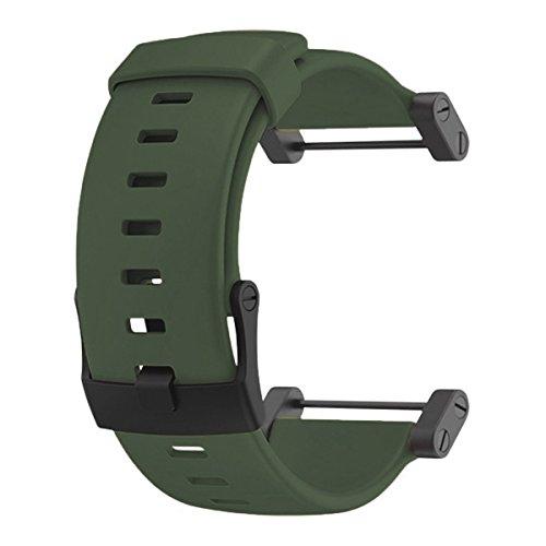 腕時計 スント アウトドア メンズ アウトドアウォッチ特集 SS0188191000 【送料無料】Suunto Core Accessory Strap Army Green Rubber Band Black Buckle Adapter腕時計 スント アウトドア メンズ アウトドアウォッチ特集 SS0188191000