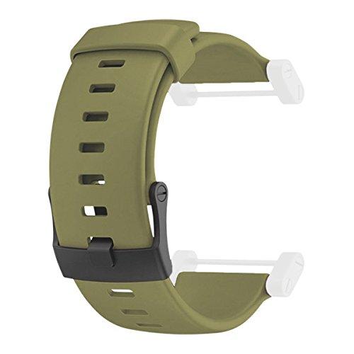 スント 腕時計 アウトドア メンズ アウトドアウォッチ特集 SS0188199000 【送料無料】Suunto Core Accessory Strap Olive Green One Size Rubber Band Black PVD Buckleスント 腕時計 アウトドア メンズ アウトドアウォッチ特集 SS0188199000