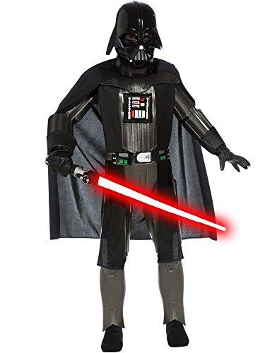 コスプレ衣装 コスチューム スターウォーズ メンズ・レディース・キッズ Deluxe Darth Vader Costume - Mediumコスプレ衣装 コスチューム スターウォーズ メンズ・レディース・キッズ