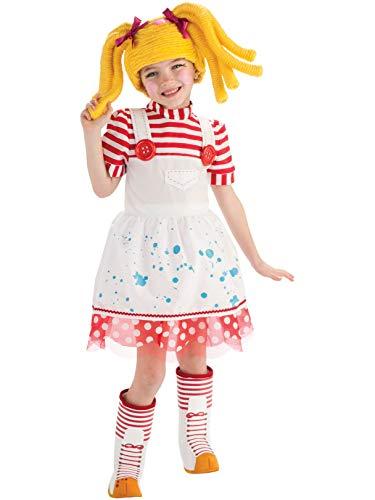 コスプレ衣装 コスチューム その他 Rubie's Lalaloopsy - Spot Splatter Splash Doll Toddler / Child Costume - Toddler (2/4)コスプレ衣装 コスチューム その他