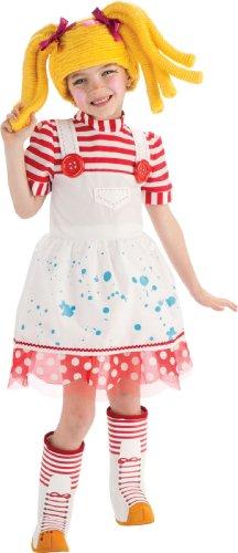 コスプレ衣装 コスチューム その他 884804 【送料無料】Lalaloopsy Deluxe Spot Splatter Splash Costume - Mediumコスプレ衣装 コスチューム その他 884804